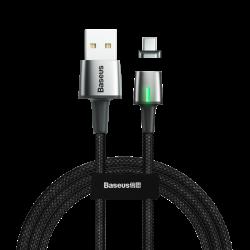 Магнитный кабель Type-C с оплеткой Baseus Zinc Magnetic 3A 1m Black