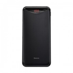 Power Bank Baseus Gentleman Digital Display Powerbank 10000mAh Black