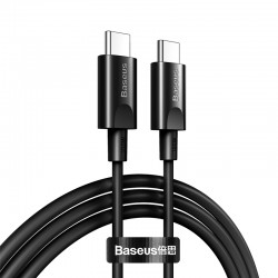 Кабель Type-C to Type-C Baseus Xiaobai series fast charging (100W, 20V, 5A) 1.5m Black