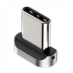 Магнитный адаптер Type-C для кабеля Baseus Zinc Magnetic silver
