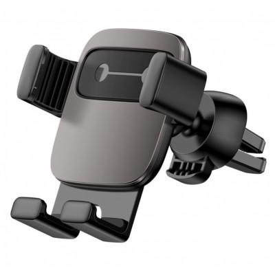 Автодержатель Baseus Cube Gravity Vehicle-mounted Holder Black