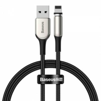 Магнитный кабель для зарядки iPhone Baseus Zinc Magnetic Cable for Lightning (Charging only) 2A 1m Black