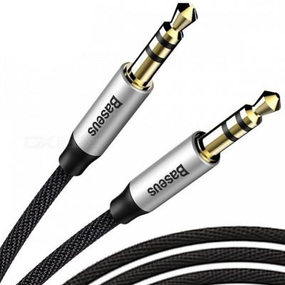Аудио кабель Baseus Yiven AUX 3.5mm Audio M30 1m Black