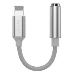 Аудио переходник для iPhone с Lightning на 3.5mm Baseus L3.5 White