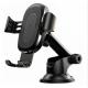 Автодержатель Baseus Wireless Charger Gravity Car Mount (osculum type) Black