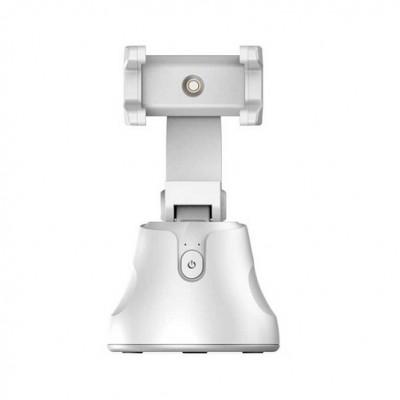 Смарт-штатив для телефона с датчиком движения Baseus 360 AI Following Shot Tripod Head White