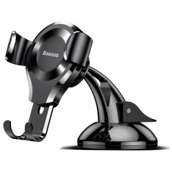 Автодержатель Baseus Osculum Type Gravity Car Mount Black