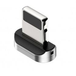 Магнитный адаптер Lightning для кабеля Baseus Zinc Magnetic silver