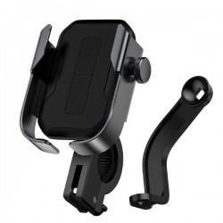Вело-мото держатель Baseus Armor Motorcycle holder Black