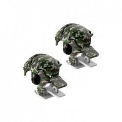 Игровые триггеры для телефона Baseus Level 3 Helmet PUBG Gadget GA03 Camouflage Green