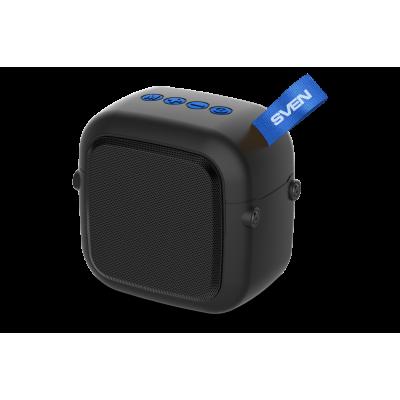Маленькая Bluetooth колонка Sven PS-48 Black