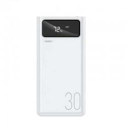 Power Bank Remax RPP-112 Mengine Series 30000mAh (4USB, 2.1A) White