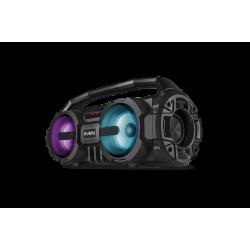 Портативная Bluetooth колонка с подсветкой Sven PS-415 (USB, AUX, FM-радио) Black