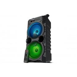 Портативная Bluetooth акустическая система с подсветкой Sven PS-440 (USB, AUX, FM-радио) Black