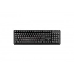 Проводная клавиатура для офиса или дома Sven 301 Standard USB Black