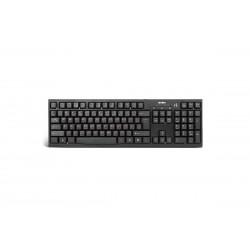 Проводная клавиатура с дополнительным USB портом Sven Standard 304 USB Black