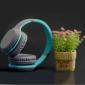 Bluetooth наушники Celebrat A18 Blue