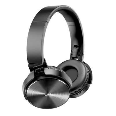 Накладные Bluetooth наушники Hoco DW01 Foldable headphones (BT5.0, MicroSD, AUX) Black