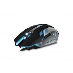 Проводная игровая мышь с подсветкой Sven RX-G740 USB Black