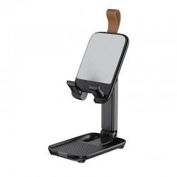 Настольная подставка (держатель) для телефона или планшета Remax RM-C51 Multifunctional Mini Desktop Stand Black