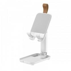 Настольная подставка (держатель) для телефона или планшета Remax RM-C51 Multifunctional Mini Desktop Stand White