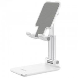Настольная подставка (держатель) для телефона или планшета Hoco PH29A Carry folding desktop stand White