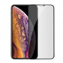 Защитное стекло антишпион Hoco Shatterproof edges full screen anti-spy для Apple iPhone X/XS/11 Pro (A13) Black