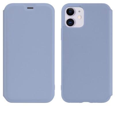 Чехол-книжка Hoco Colorful series liquid silicone для Apple iPhone 11 Purple