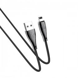 Кабель Hoco U75 Blaze magnetic Lightning 1.2m Black