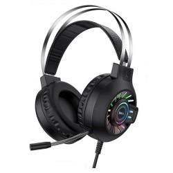 Игровые наушники с микофоном для ПК Hoco ESD04 Cool Game headphones Black