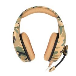 Наушники игровые Onikuma K1-B с микрофоном Camouflage Yellow