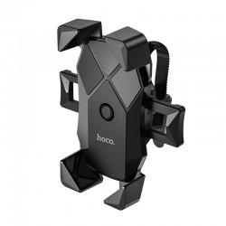 Вело-мото держатель телефона на руль Hoco CA58 Light ride one-button Black