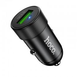 Автомобильное зарядное устройство Hoco Z32 Speed Up QC3.0 (1USB) Black