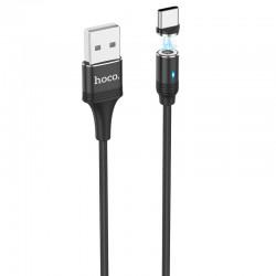 Кабель Hoco U76 Fresh magnetic Type-C 1.2m Black