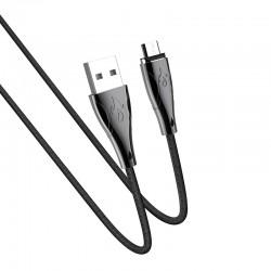 Кабель Hoco U75 Blaze magnetic MicroUSB 1.2m Black