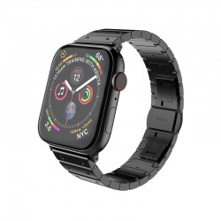 Металлический ремешок Hoco WB07 Precious steel strap для Apple Watch Series 1/2/3/4/5 (38/40mm) Black