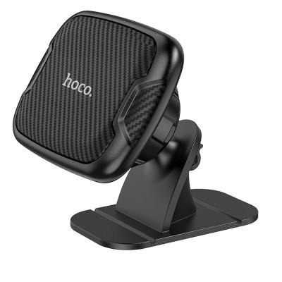 Магнитный держатель для телефона в авто на панель Hoco CA66 Black