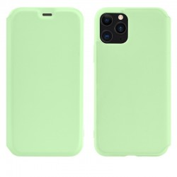 Чехол-книжка Hoco Colorful series liquid silicone для Apple iPhone 11 Pro Green