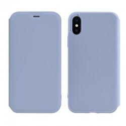 Чехол-книжка Hoco Colorful series liquid silicone для Apple iPhone XS Max Purple