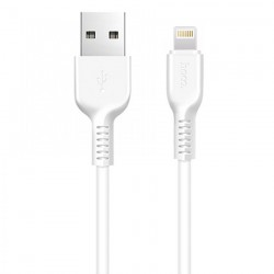 Кабель Hoco X1 Lightning-USB 3m White