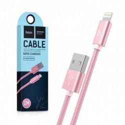 Кабель USB Hoco X2 Lightning Rose gold