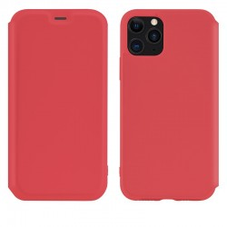 Чехол-книжка Hoco Colorful series liquid silicone для Apple iPhone 11 Pro Max Red