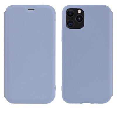 Чехол-книжка Hoco Colorful series liquid silicone для Apple iPhone 11 Pro Max Purple
