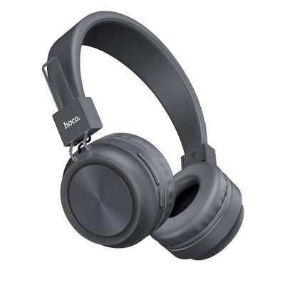 Bluetooth наушники Hoco W25 Promise Gray