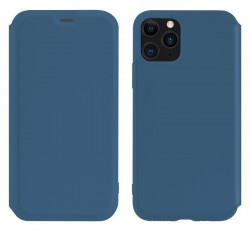 Чехол-книжка Hoco Colorful series liquid silicone для Apple iPhone 11 Pro Blue