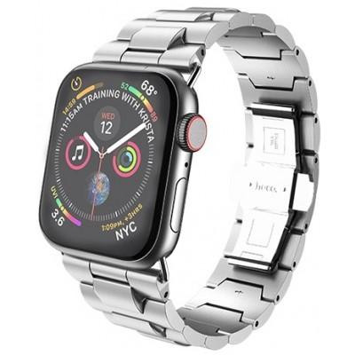 Ремешок Hoco WB03 Grand Steel для Apple Watch Series 1/2/3/4 (38/40mm) Silver