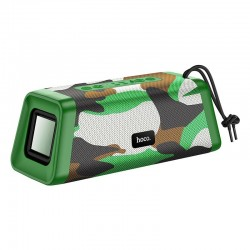 Портативная Bluetooth колонка Hoco BS35 Classic sound sports Camouflage Green