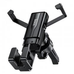 Держатель для телефона в авто (в дефлектор) Hoco CA72 Phantom air outlet hidden gravity Black