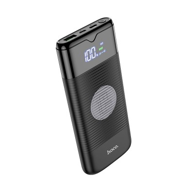 Power Bank с беспроводной зарядкой Hoco J63 Velocity PD+QC3.0 wireless charging (10000mAh) Black