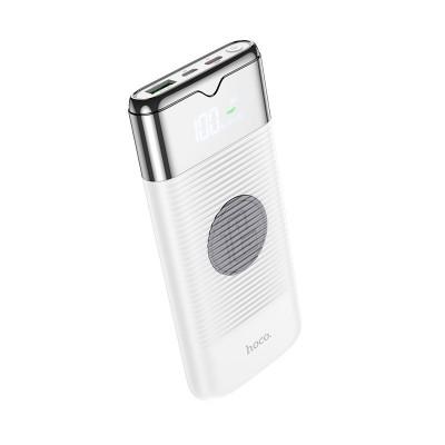 Power Bank с беспроводной зарядкой Hoco J63 Velocity PD+QC3.0 wireless charging (10000mAh) White